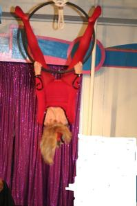 Bunny Herring making her trapeze debut at 80